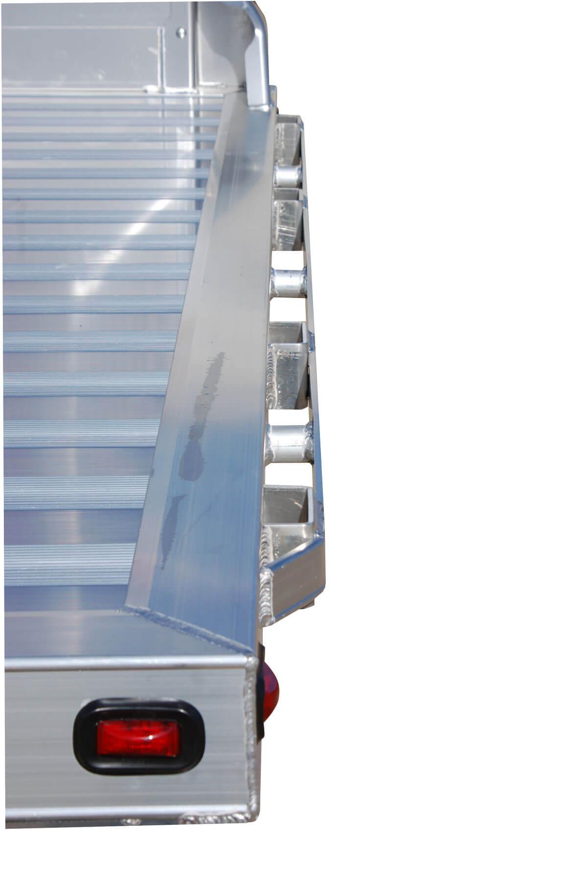 adjustable headache rack with lighting